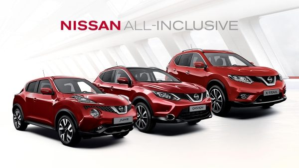 Nissan All-Inclusive - Crossover modellen