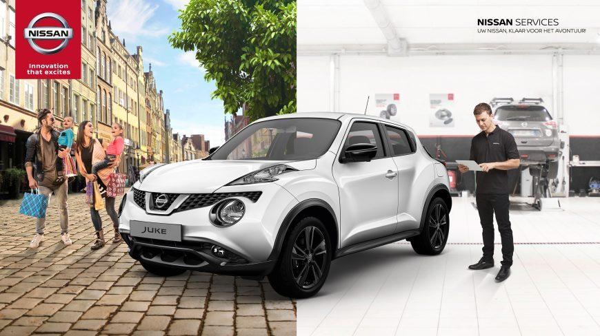 Nissan Garage Tweedehands : Welkomstcheck eigenaar nissan