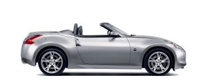 Nissan 370z Roadster - Side view