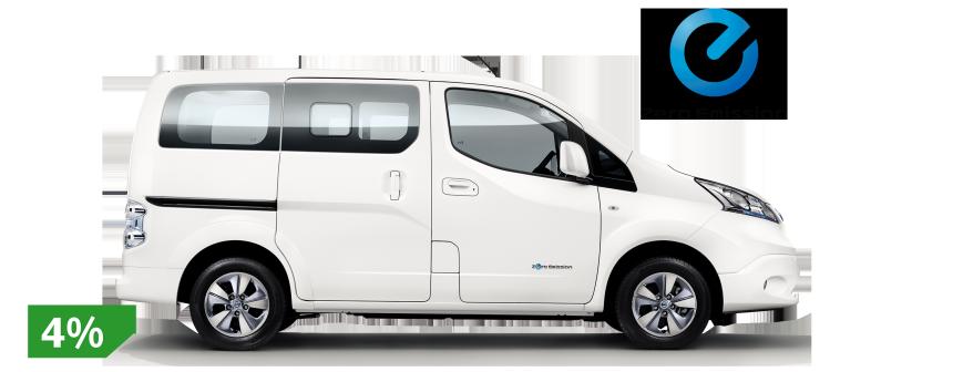 Elektrische Auto S Elektrische Bedrijfswagen Nissan