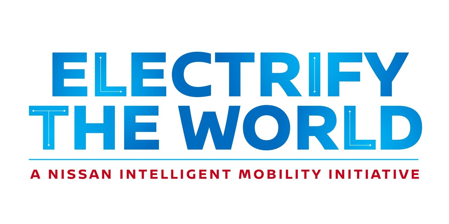 logo for electrify the world