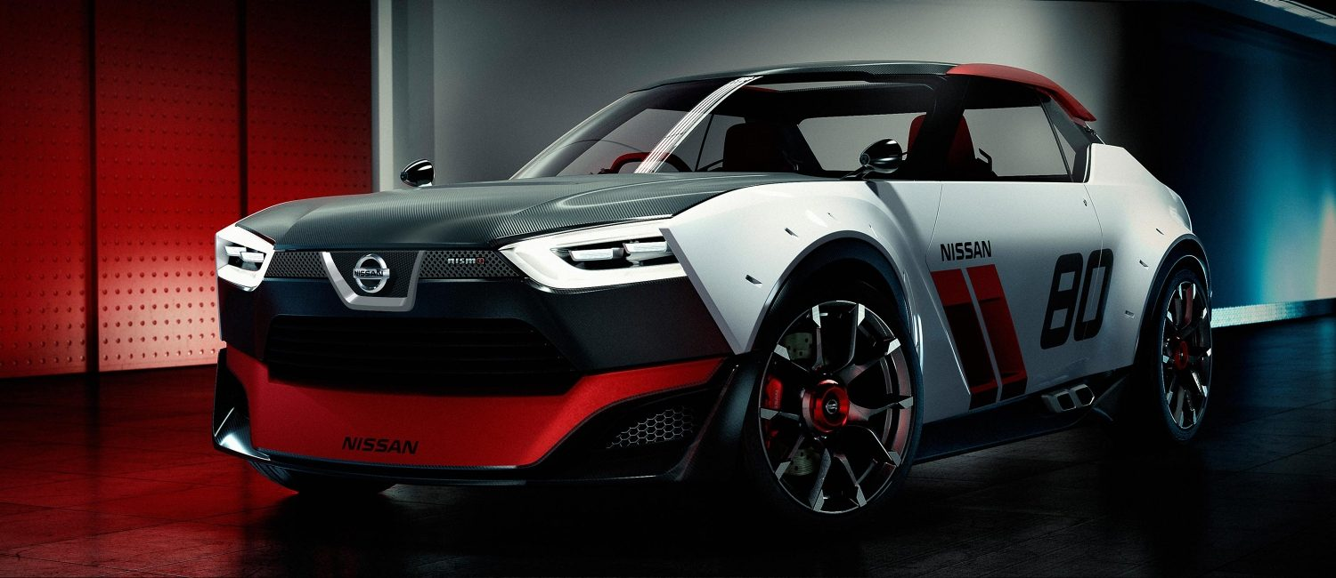 Experience Nissan - Concept car - IDx NISMO - 3/4 front view