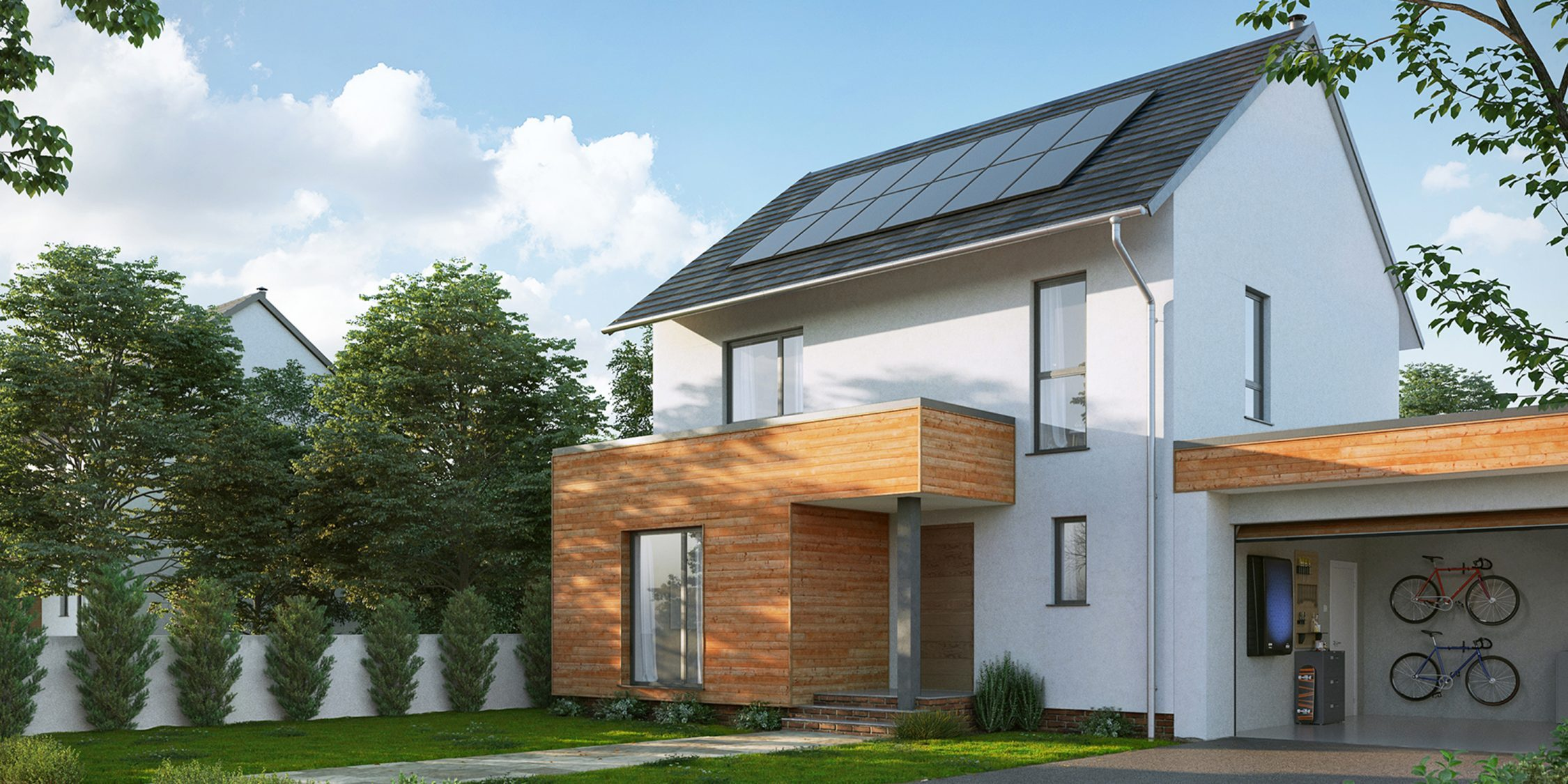 Nissan energy solar for home