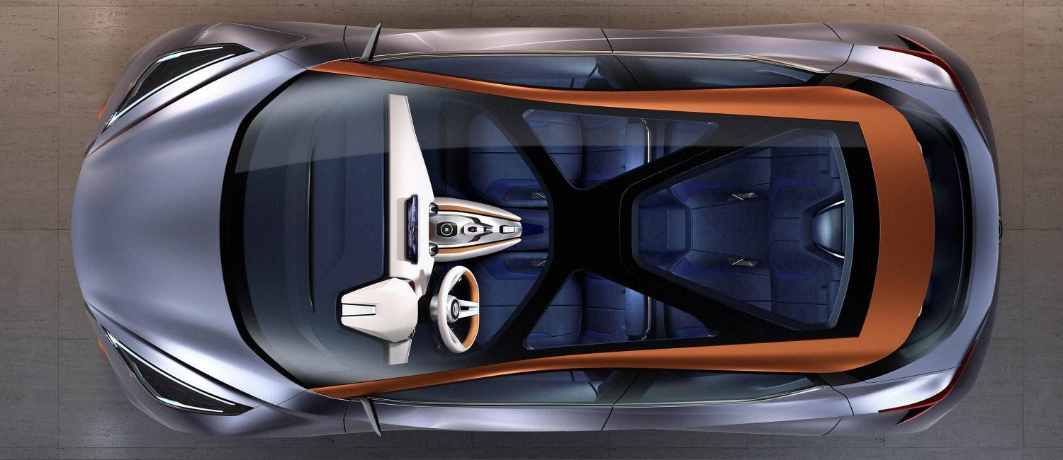 Experience Nissan - Concept car - Sway - top view