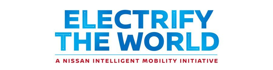 Logo Nissan Electrify the World