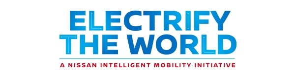 Logo Electrify the World Nissan