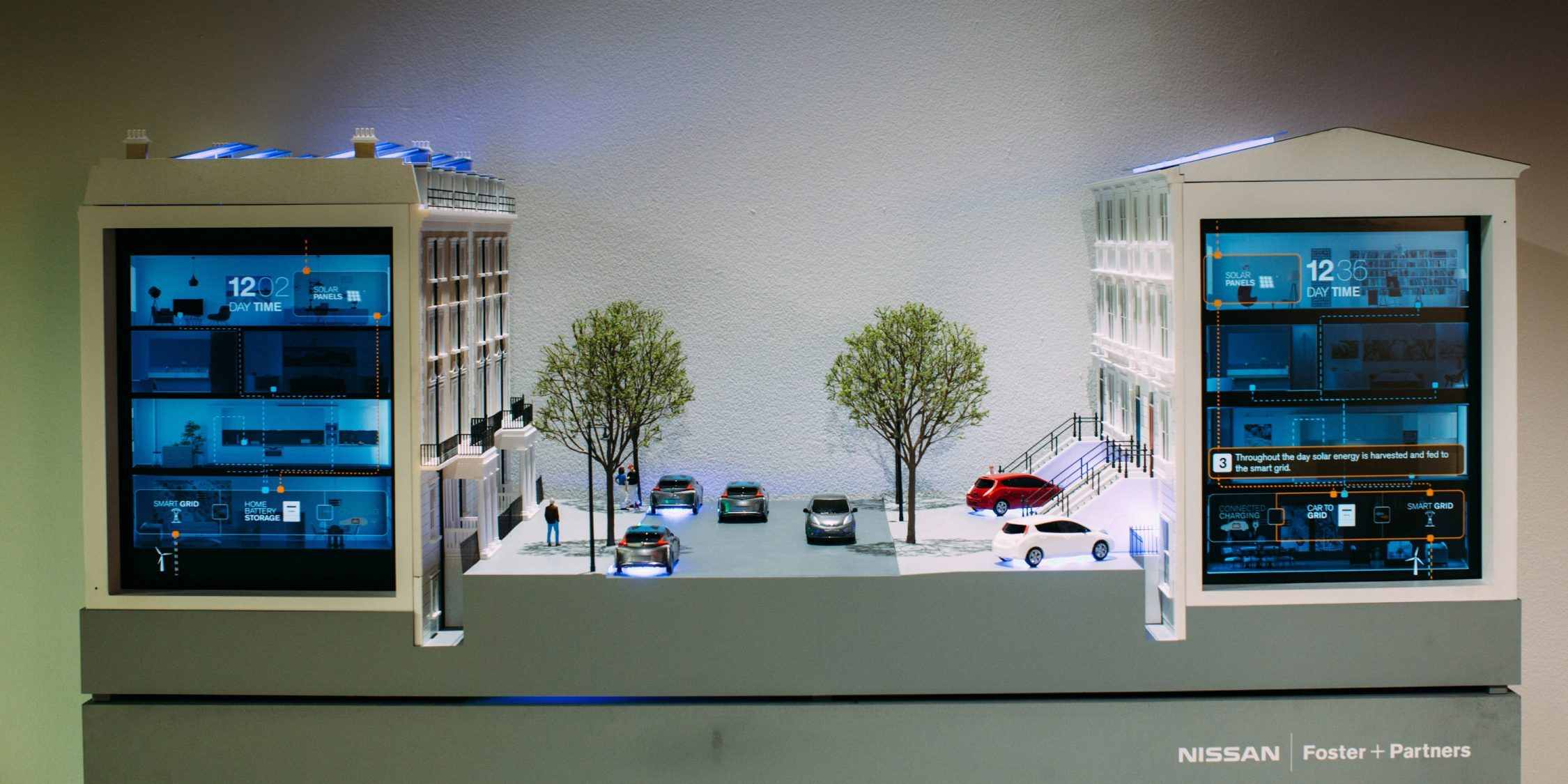 Video showing Nissan's vision of a sustainable, fully integrated future