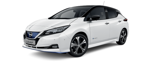 Nissan LEAF e+ N-Connecta hvid-sort