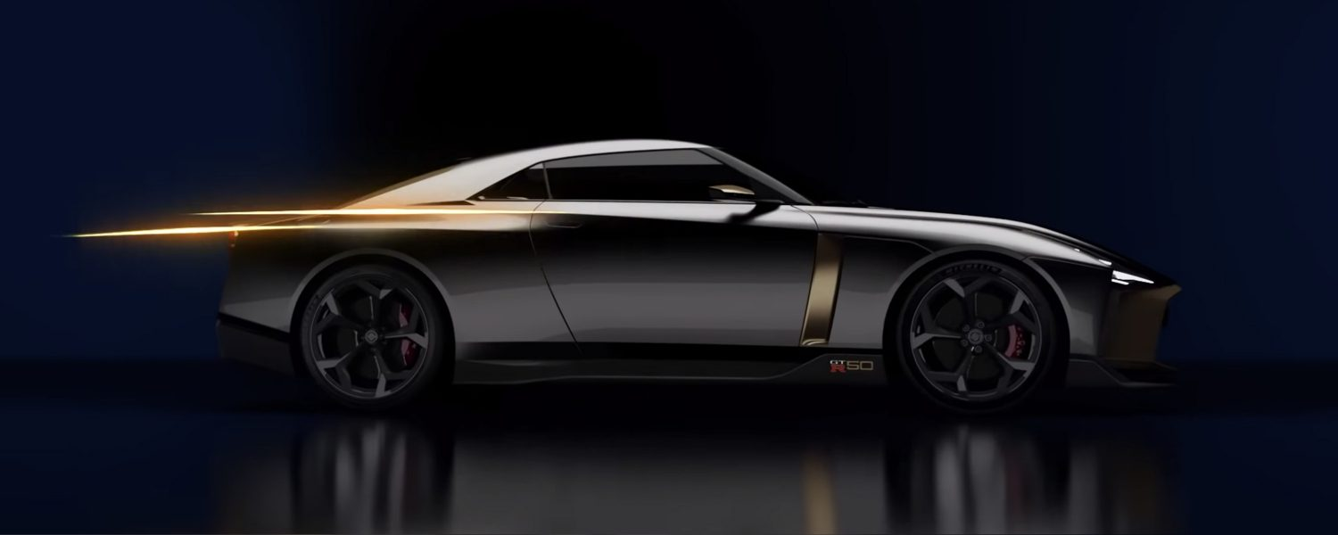 Perfil Italdesign do Nissan GT-R50