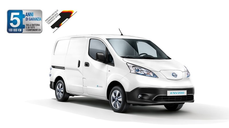 e-NV200 Commercial Vehicle Award