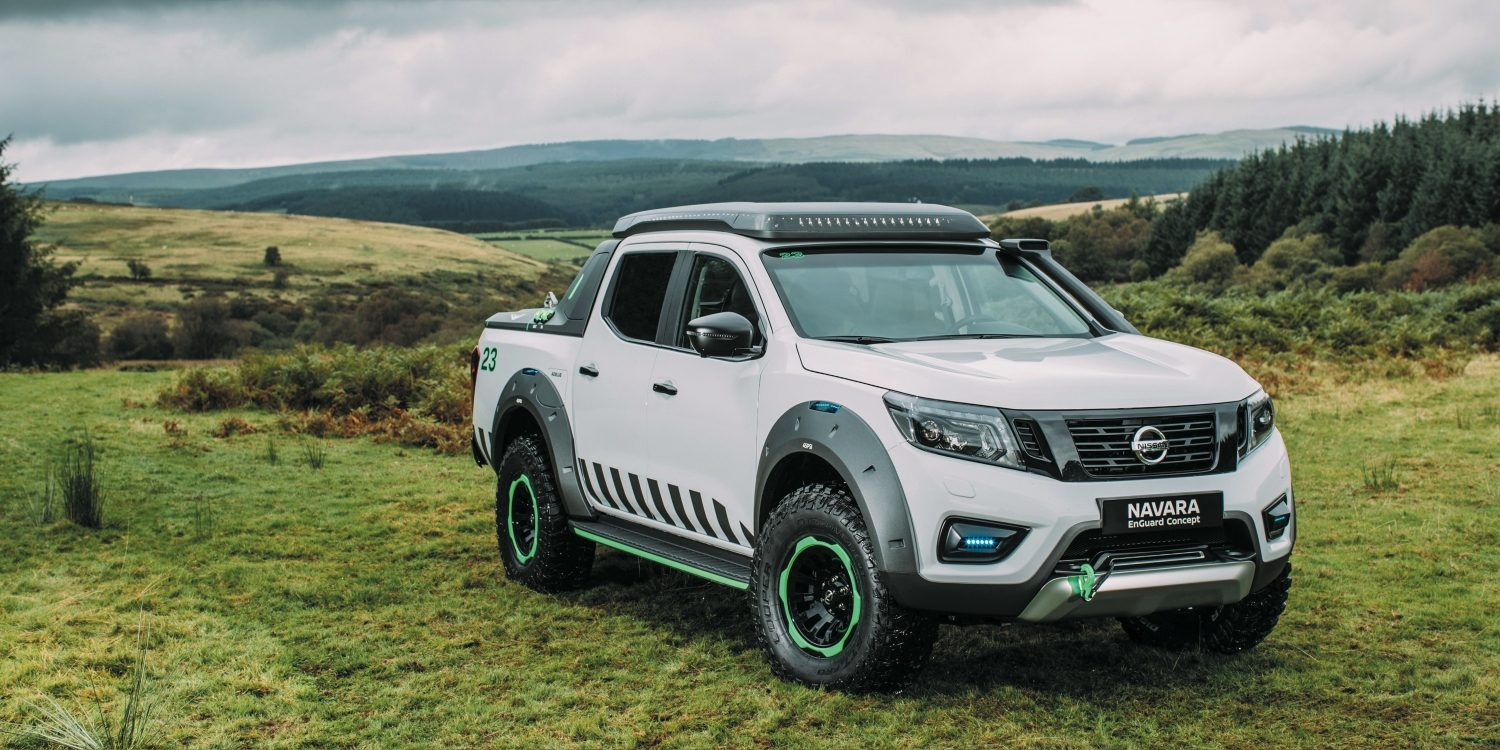 THE ULTIMATE ALL-TERRAIN RESCUE PICK-UP WITH PORTABLE ELECTRIC BATTERY POWER