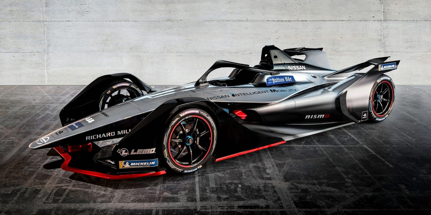 NISSAN Formel E 3/4-Frontansicht