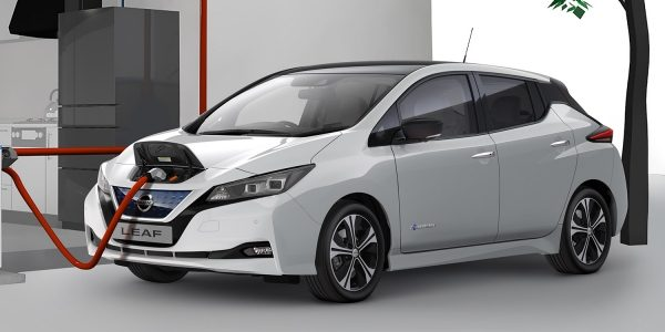 Nissan Leaf Charging at home