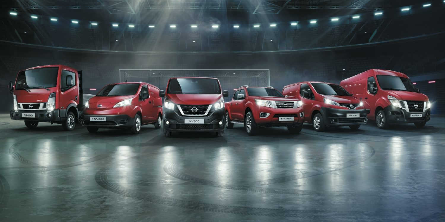 GAMME UTILITAIRES LÉGERS NISSAN