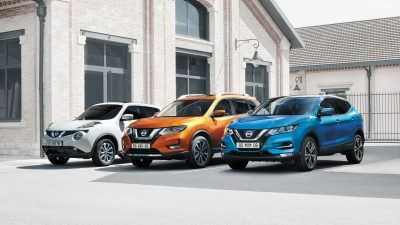 GAMA NISSAN CROSSOVERS