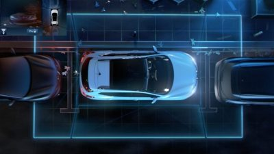 Nissan hatchback range | Around view monitor