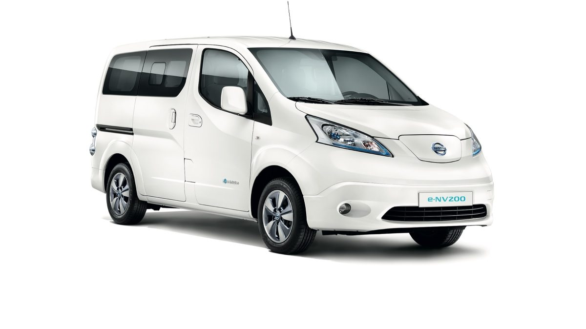 Photo 3/4 face du Nissan e-NV200
