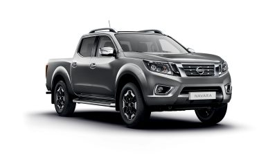 Photo 3/4 face du Nissan NAVARA