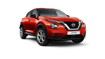Photo 3/4 face du Nissan JUKE