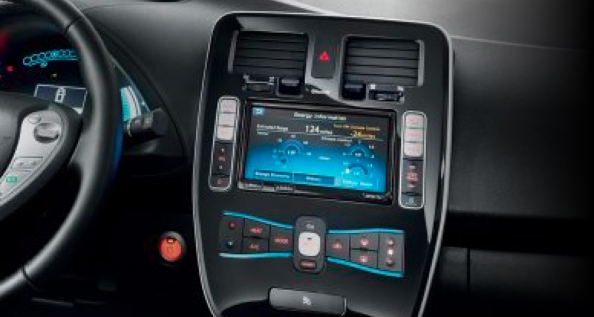 Console application NissanConnect ev