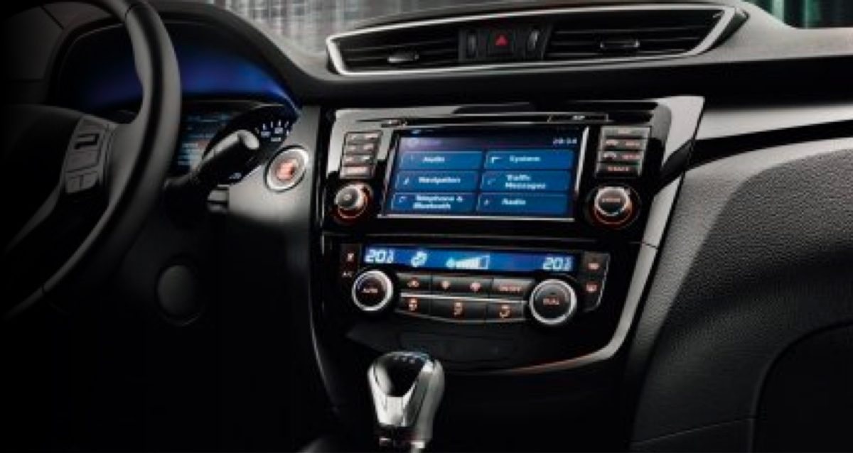 NISSAN CONNECT mit Smartphone-Apps Konsole