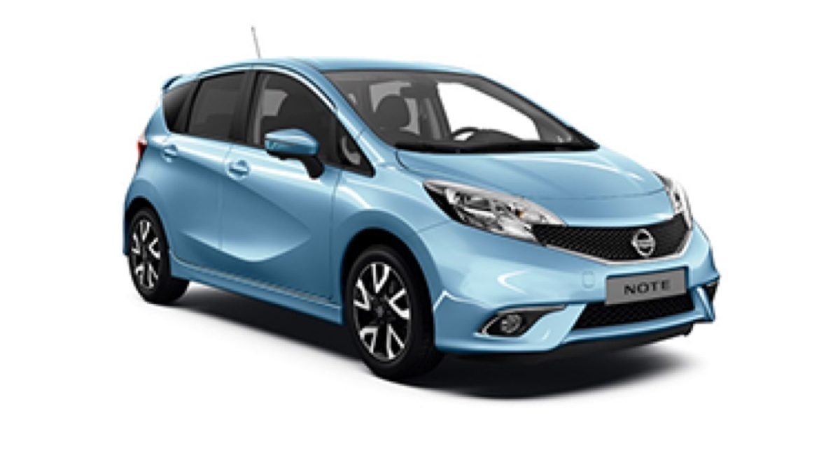 Photo 3/4 face de la Nissan NOTE