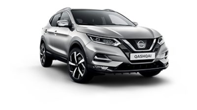 Photo 3/4 face du Nissan QASHQAI