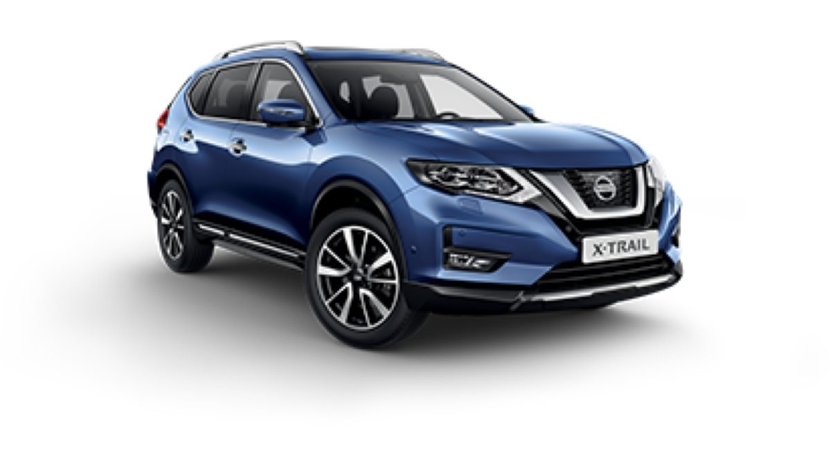 Photo 3/4 face du Nissan X-TRAIL