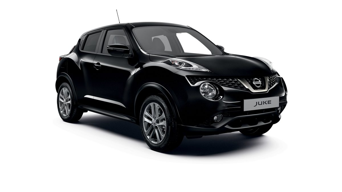 Previous Nissan JUKE 3/4 front packshot