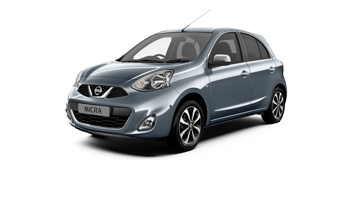 Previous Nissan Micra 3/4 front packshot