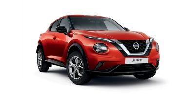Nissan JUKE 3/4 front packshot