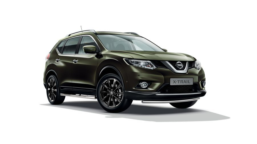 nissan x-trail exterior verde inchis