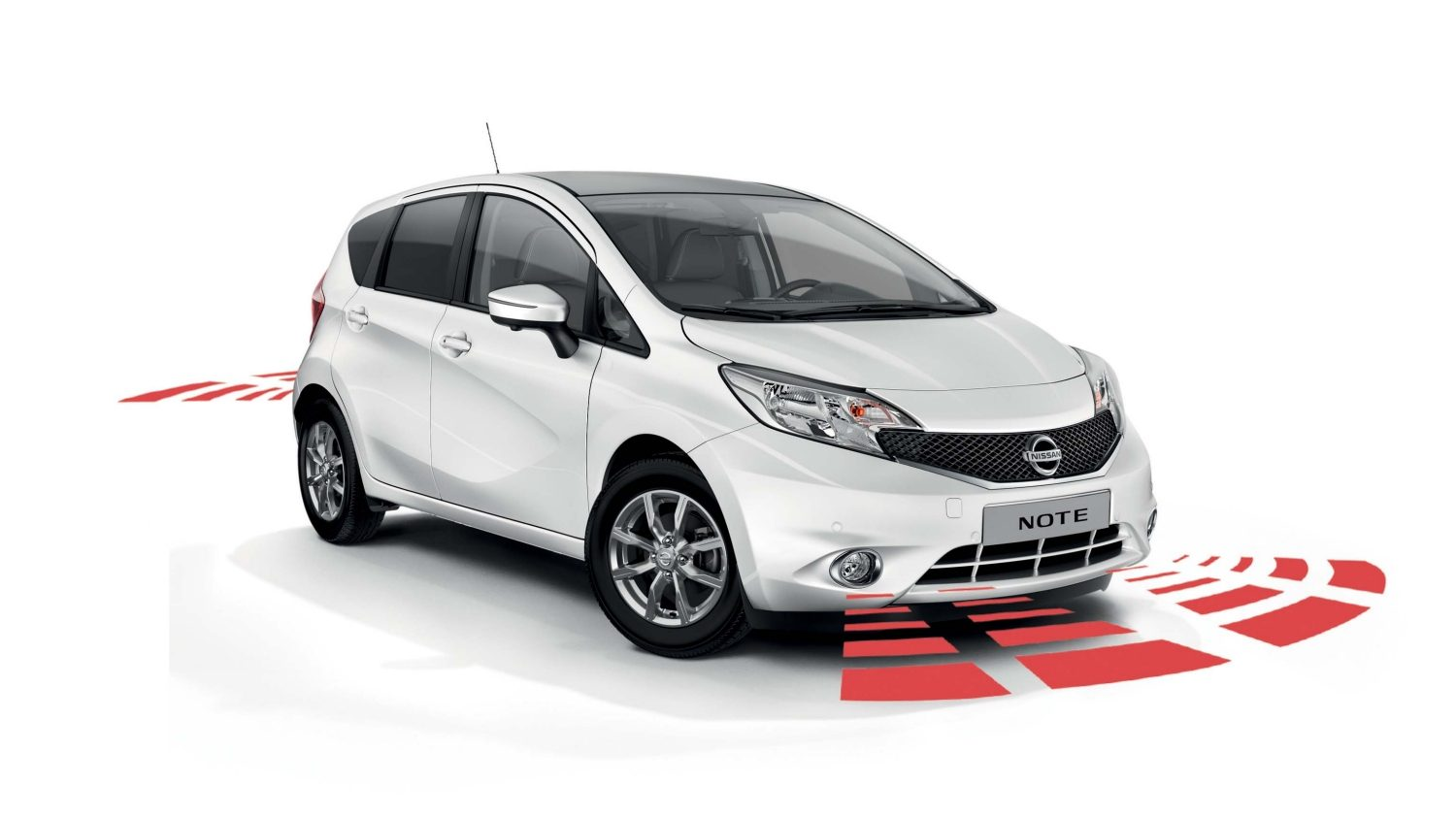 Nissan Note - Utility - Front and rear parking system