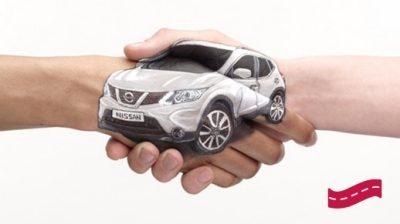 NISSAN – Kundenversprechen – kostenloser Ersatzwagen