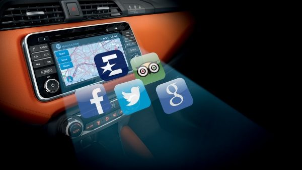 NISSAN CONNECT MIT SMARTPHONE-APPS