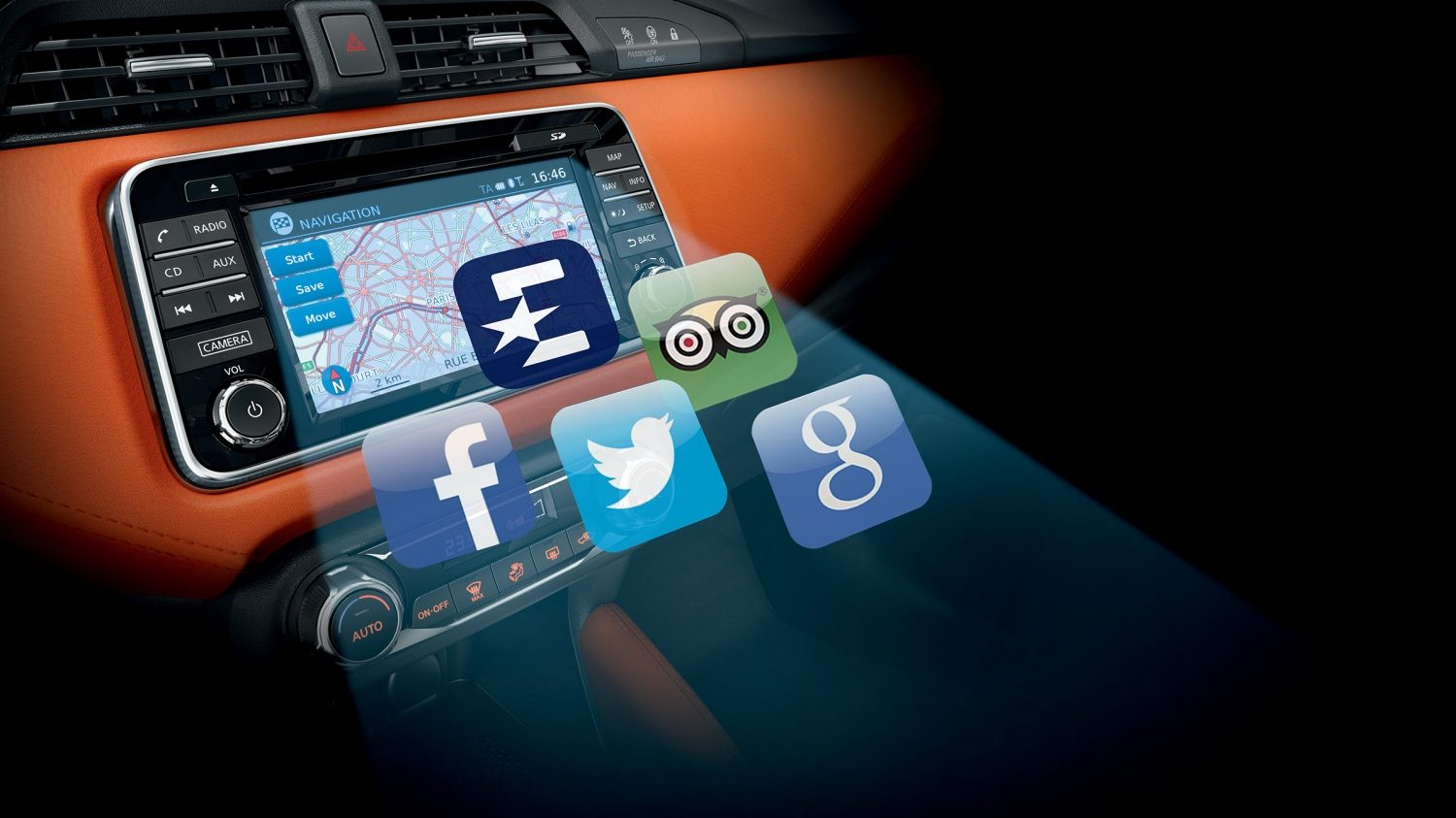 NissanConnect with Smartphone Apps