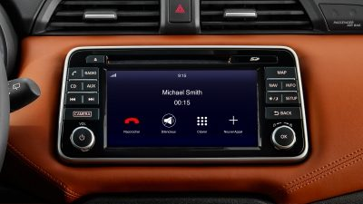Nissan phone control