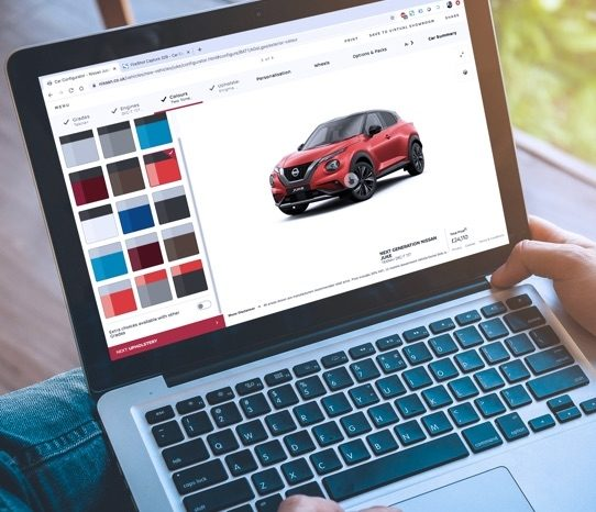 Start configuring your ideal Nissan