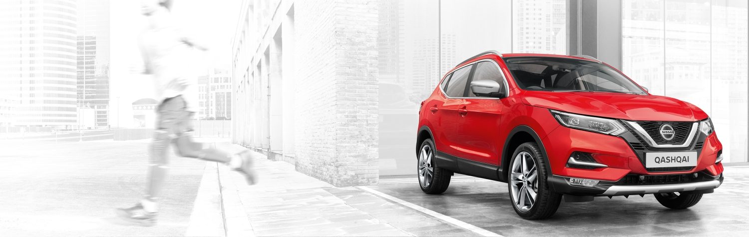 Nissan QASHQAI N-MOTION rouge 3/4 face