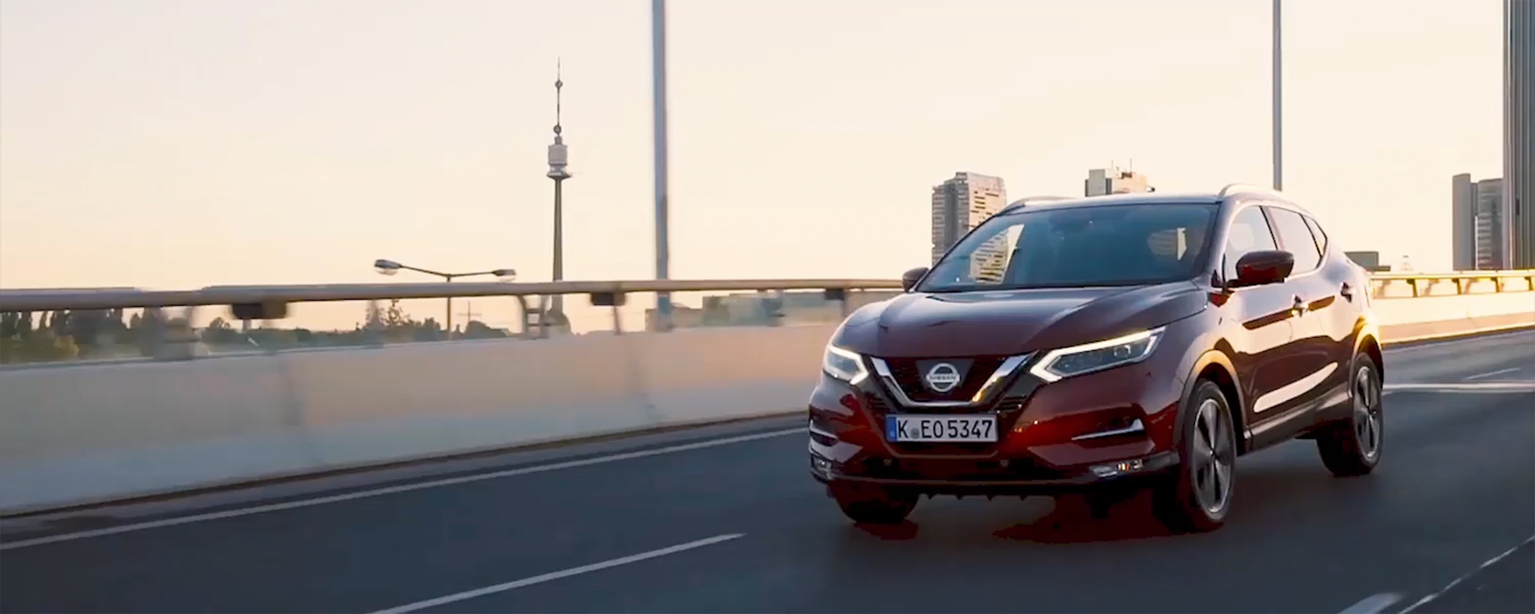 Nissan Qashqai driving in the city preview image