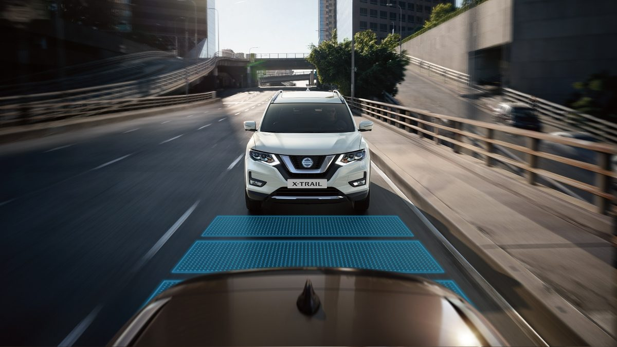 Nissan X-Trail Intelligent Cruise Control
