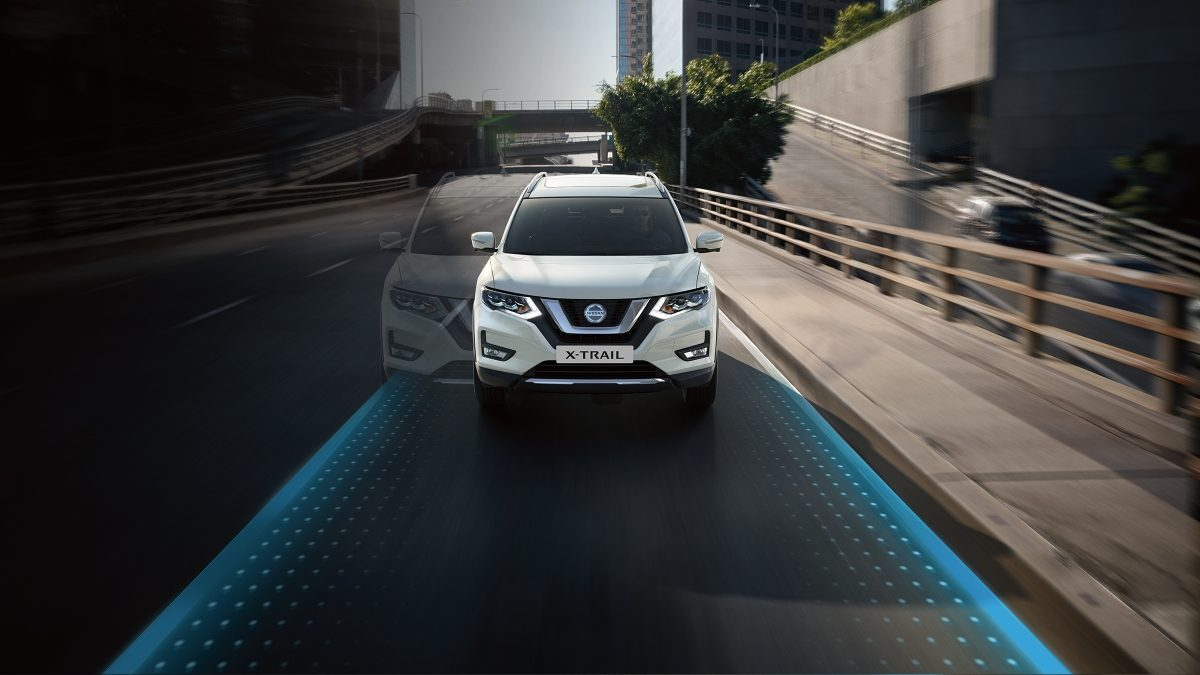 Nissan X-Trail Lane Departure Warning
