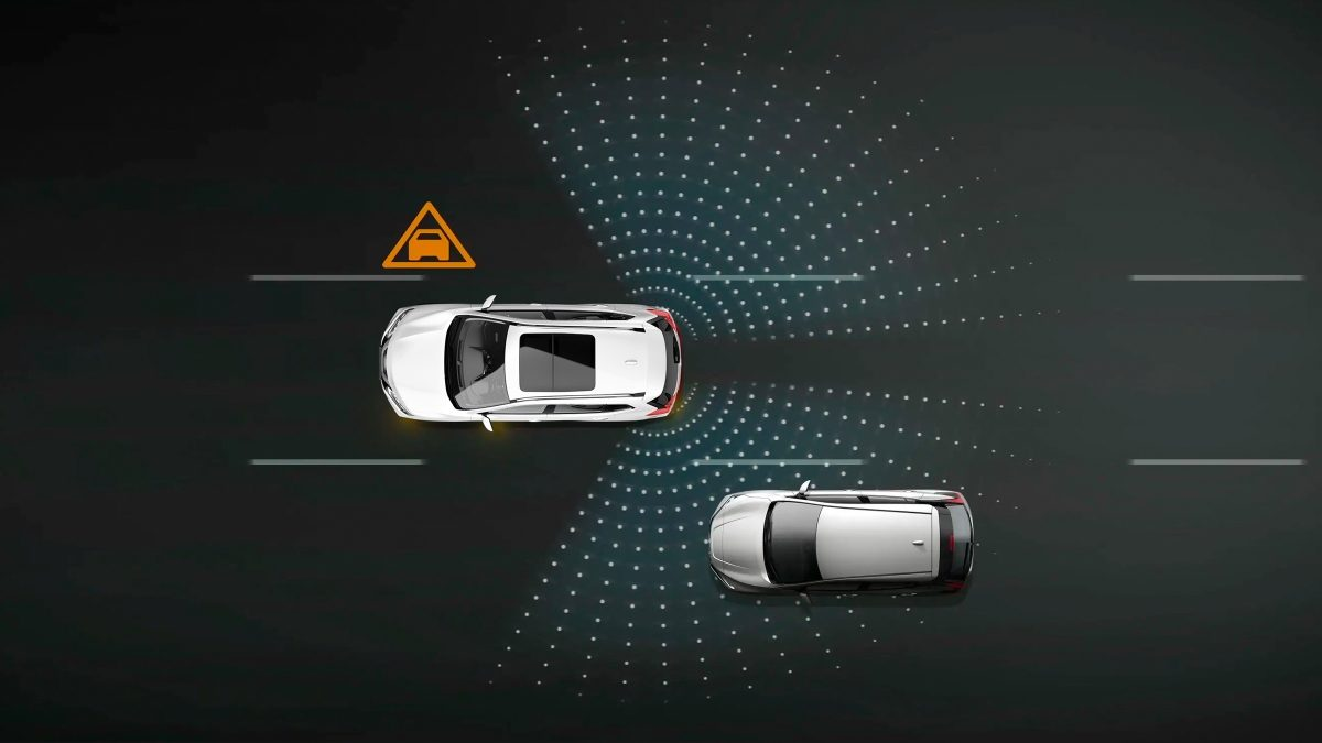 Nissan X-Trail Blind Spot Warning