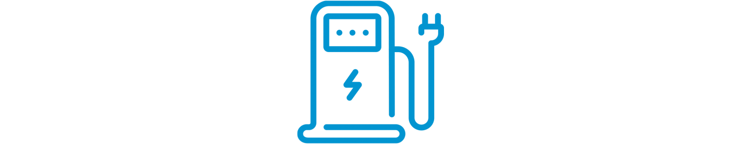 elektrisch laadstation pictogram