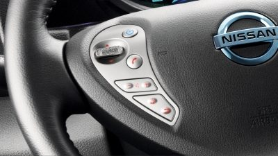 New Nissan e-NV200 Evalia heated front seats and steering wheel