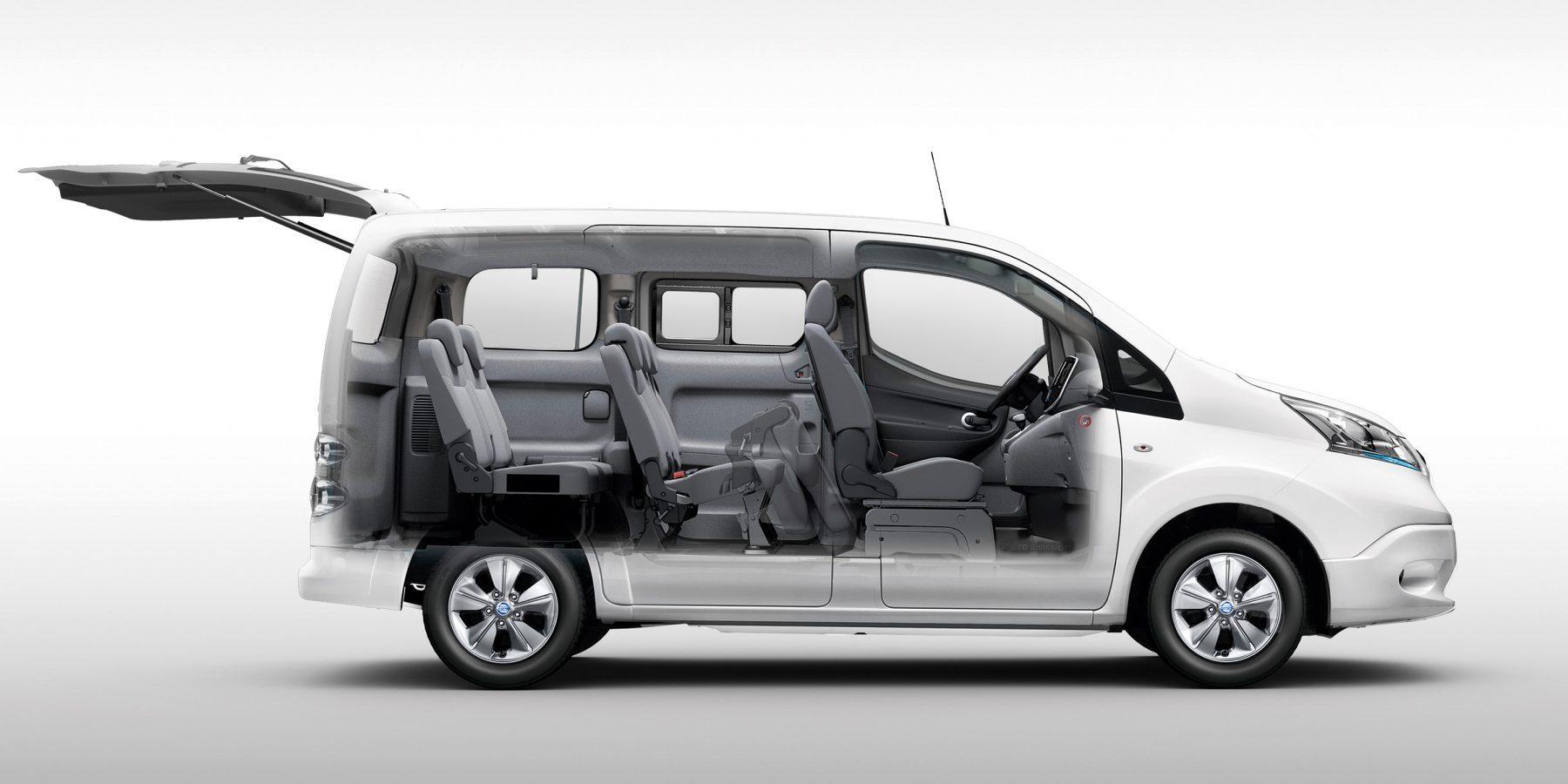 der neue nissan e-nv200 evalia – elektro familienauto 7-sitzer | nissan