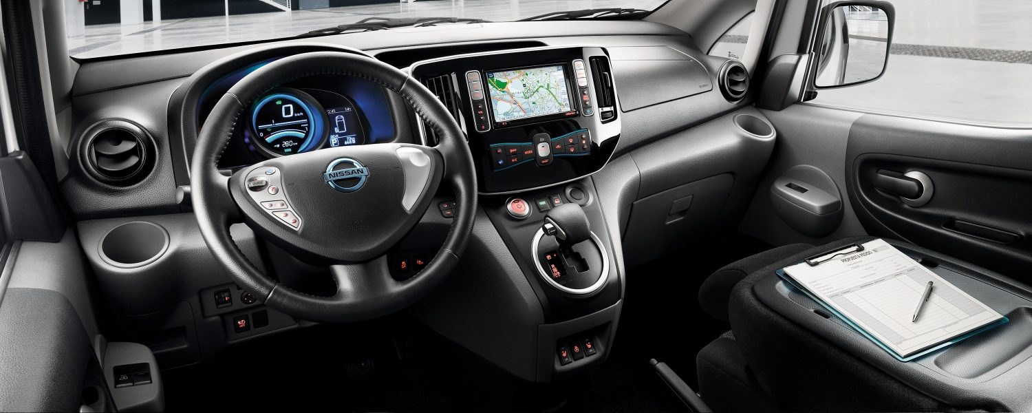 Nissan e-NV200 interieur