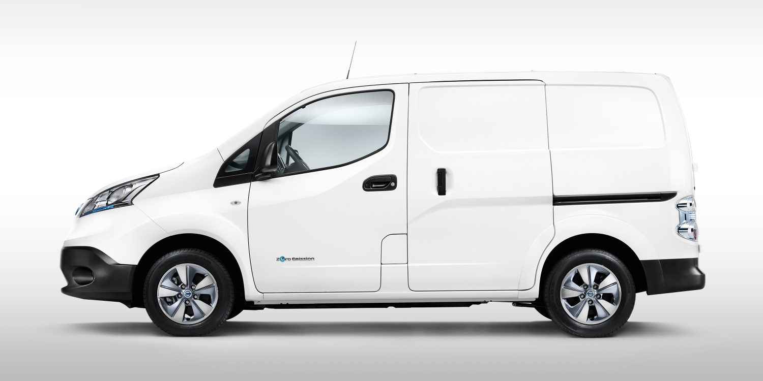 New Nissan e-NV200 3/4 profile