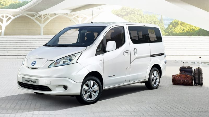 new e nv200 electric van electric vehicle nissan. Black Bedroom Furniture Sets. Home Design Ideas