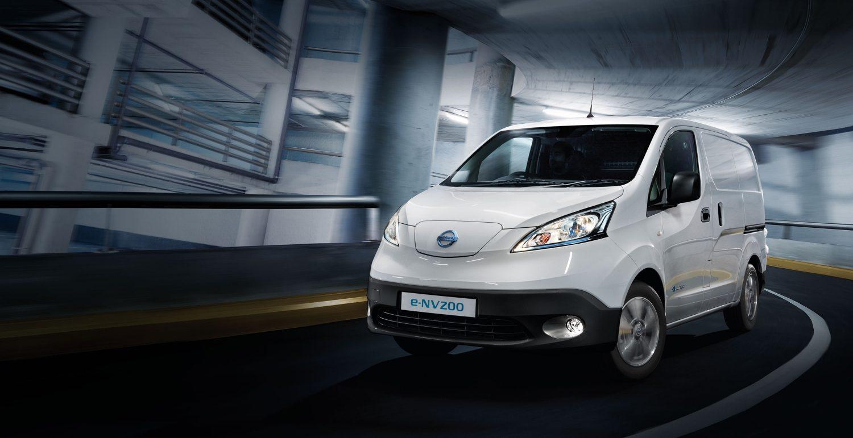 Image result for Nissan small ev vans